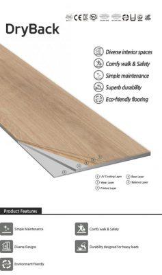 kết cấu của sàn nhựa giả gỗ